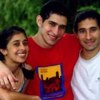 Siblings Sangeeta (from left), Sunil and Ravi Tripathi. Sunil went missing weeks before the Boston Marathon, and media outlets misidentified him as one of the bombing suspects.