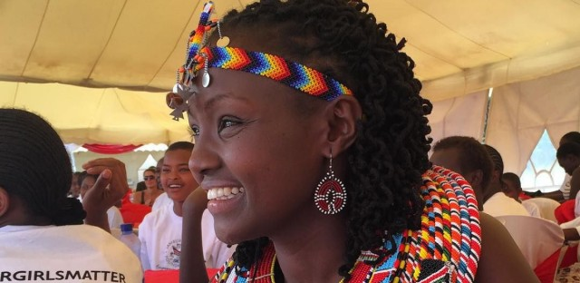 Josephine Kulea of Samburu Girls Foundation