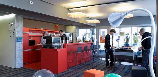 A Google office. Google practices a 20 percent rule for its engineers which allows them to use 20 percent of their time to explore interests and duties that may be out of their specific job description.