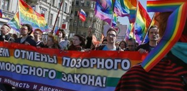 Gay rights in Russia and corruption in India