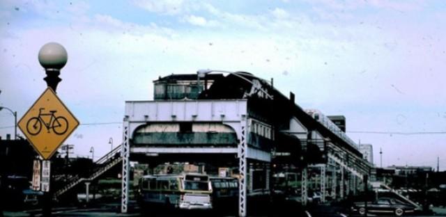 63rd-Stony Island terminal, 1978