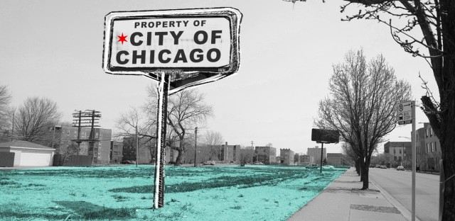In East Woodlawn, the city of Chicago is the single largest landowner. Much of the property it owns is vacant. As residents worry about what the future Obama Presidential Center means for the area, the city has the most power to reshape the community in years to come.