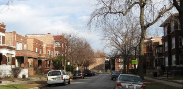 Apartments and two-flats on Union Avenue