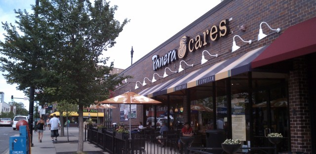 Panera Cafe in Lakeview allows patrons to pay what they want