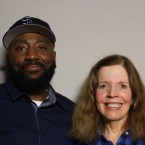 Sergeant Keith Miller spoke with Ellen Hughes at the StoryCorps booth in Chicago.