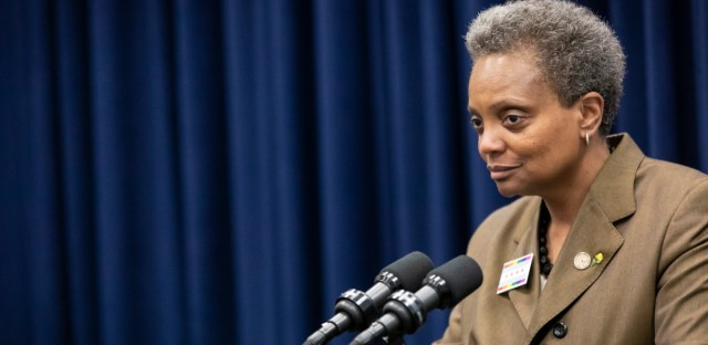 Mayor Lori Lightfoot, pictured here on June 19, 2019, came to City Hall demanding an end to aldermanic privilege. But some city insiders and aldermen say the system works fine.