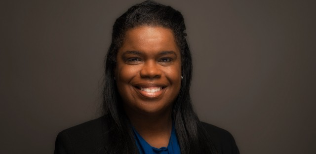 State's Attorney Kim Foxx at the WBEZ studios on July 13, 2017.