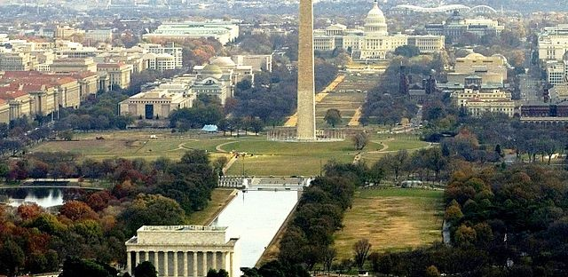 The National Mall .