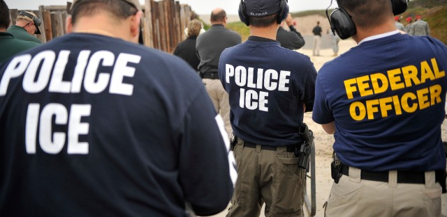 ICE and federal agents