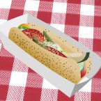 Chicago-style hot dog thumbnail