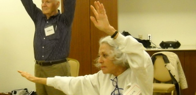A healthy dose of laughter for patients suffering from memory loss