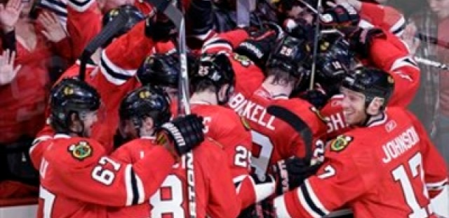Why don't other sports adopt the hockey post-game celebration?