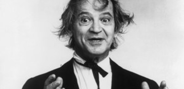 Comedian Irwin Corey was known for his long-running act as 'The World's Foremost Authority.' He is pictured here in the 1970s. Corey died at the age of 102. (ABC/Michael Ochs Archives/Getty Images)
