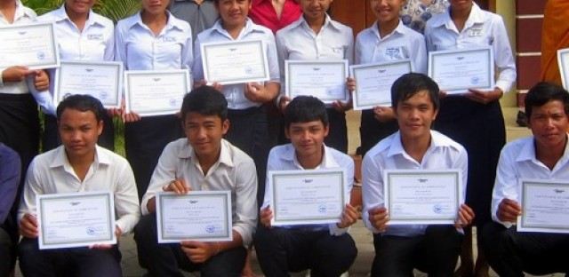 Global Activism: Teaching hospitality skills in Cambodia