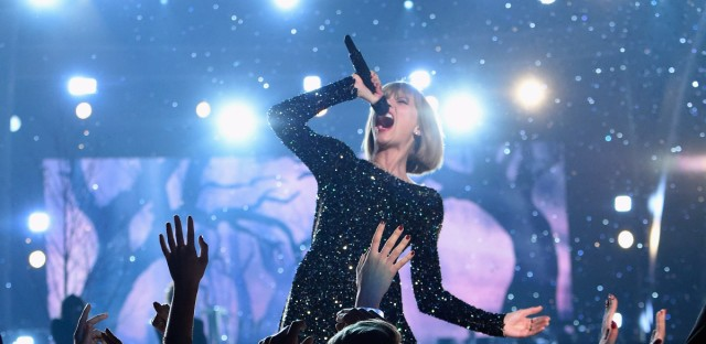 Taylor Swift is one of many artists urging Congress to update copyright laws, which they argue don't fairly pay for music available online.