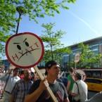 Hotel workers protest Hyatt heir's cabinet nomination
