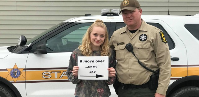 Illinois State Trooper's Daughter: 'Move Over For My Dad'