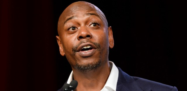 In this July 18, 2015 file photo, comedian Dave Chappelle speaks at the RUSH Philanthropic Arts Foundation's Art for Life Benefit in New York.