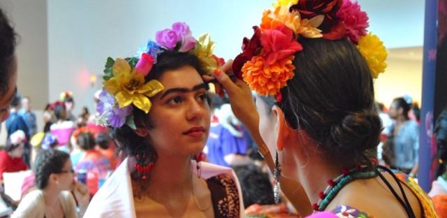 Elisa Saldivar gets a Frida Kahlo