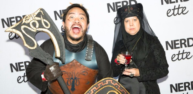 Attendees at the live recap show for Season 7 of 'Game of Thrones,' at DANK House in Chicago's Lincoln Square neighborhood on August 30, 2017.