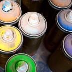 STEAM arts education spray paint
