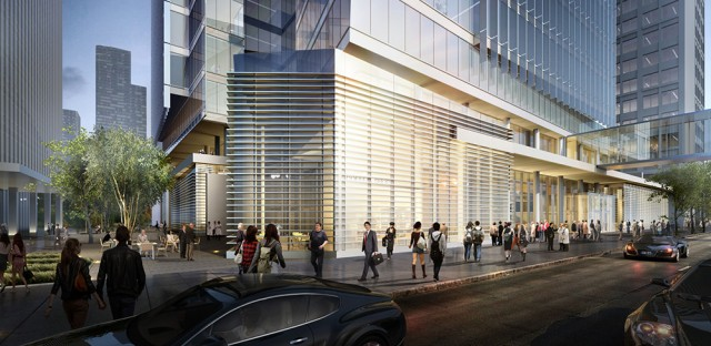 After Prentice: Northwestern shows finalists' designs for new building