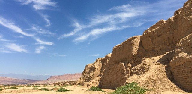 Turpan is home to Gaochang, an ancient city that lies in one of the hottest deserts in the world.