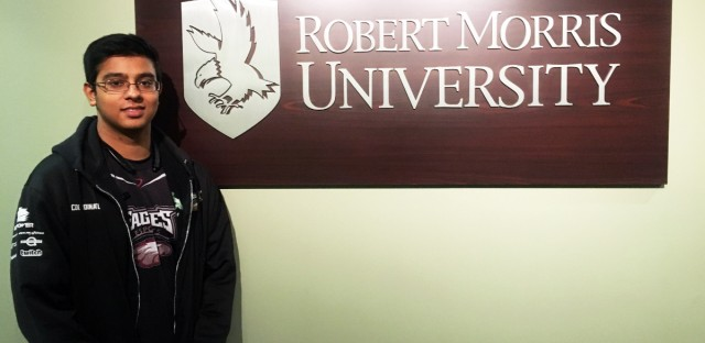 Tuition for Robert Morris University graduate students like Lav Patel will drop by nearly a third starting next month.