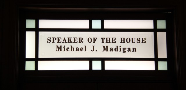 madigan office sign
