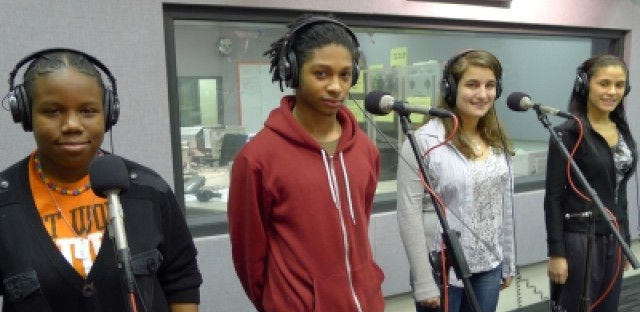 Whitney Young High School Slam Poetry Team
