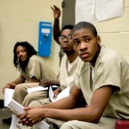 Young men participate in the SAVE Program at Cook County Jail in Chicago.