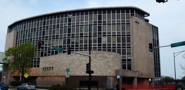 According to Preservation Chicago, Frank Cuneo Memorial was 'the most modern of hospitals' when it opened in 1957. Now it's on the group's list of endangered buildings.