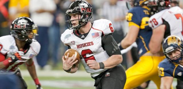 NIU QB Jordan Lynch set the NCAA rushing yards in a season by a quarterback.