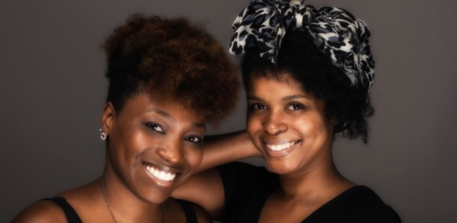 Tiffany Walden (L) and Morgan Elise Johnson, co-founders of the new digital platform working to reshape the understanding of Black millennials in Chicago.