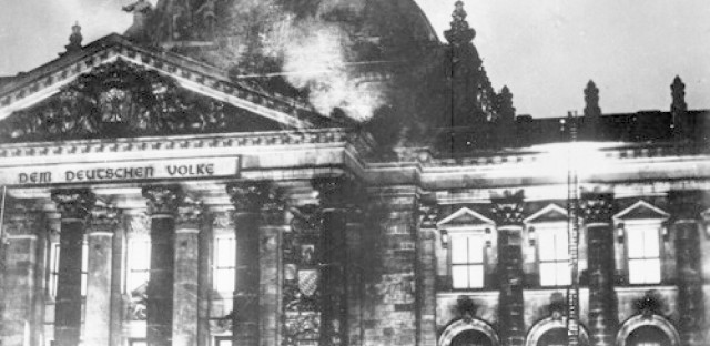 World History Minute: The Reichstag fire (Feb. 27, 1933)