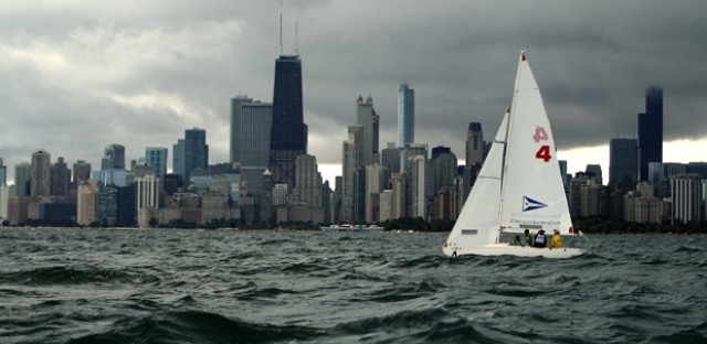 Chicago is the backdrop for this year's Blind Sailing World Championships. The competition pairs blind and sighted sailors  to navigate a series of race courses.