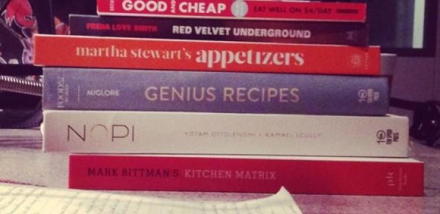Cookbooks, Cookbooks, and More Cookbooks