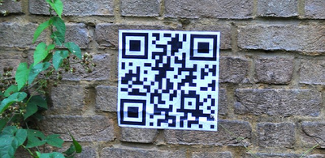 QR codes may be gaining in popularity