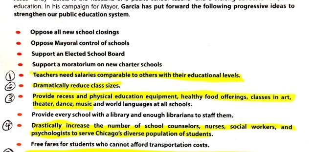 Garcia's Education platform