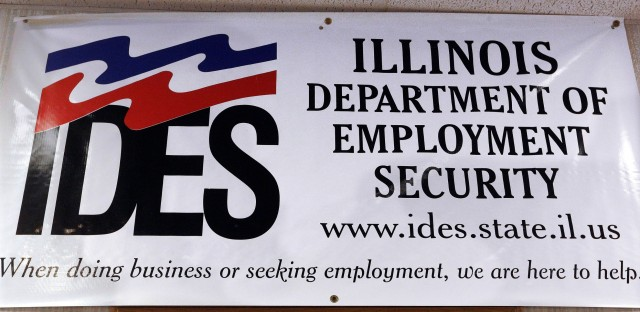 linois Department of Employment Security banner in Springfield