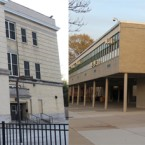 University of Chicago's Woodlawn Charter School, left, and Donoghue Charter School, right, are on the southern and northern ends of UCPD's extended jurisdiction.