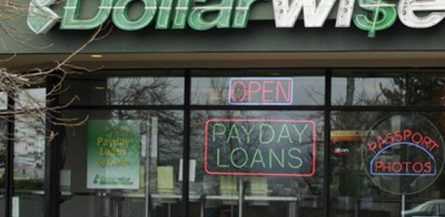 Payday loan store or loan shark?