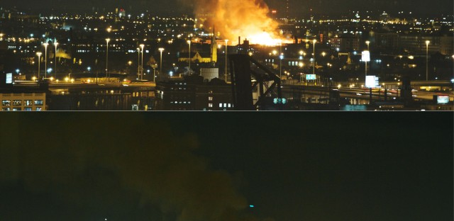 Big fire hits Chicago