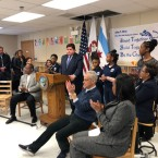 Illinois Gov. JB Pritzker joined Mayor Rahm Emanuel Friday for the announcement of a $27 million preschool expansion in Chicago.