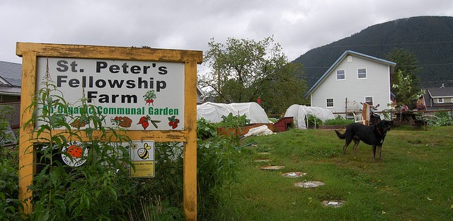 St. Peter's Fellowship Farm in Sitka, Alaska