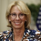 Education Secretary Betsy DeVos during a school choice event at the White House earlier this month.
