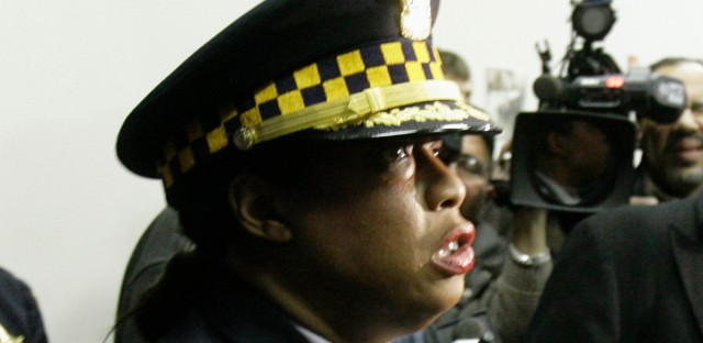 "Cmdr. Tina Skahill, photographed in 2008, testified Thursday against a sergeant's claim he had no responsibility for the accuracy of reports by his subordinates that Laquan McDonald had ""battered"" and ""injured"" Jason Van Dyke, the officer who killed the teenager. Skahill is a commander in CPD's Bureau of Internal Affairs."
