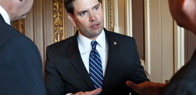 Florida U.S. Sen. Marco Rubio been talking up his own version of the DREAM Act, which, unlike to the original, would not provide a path to permanent residency or citizenship.