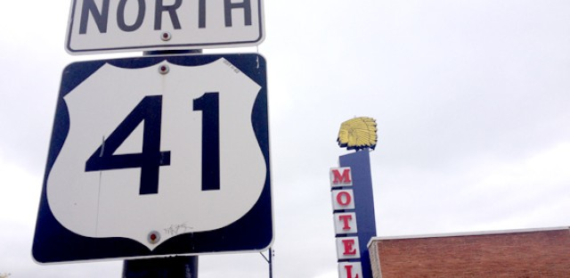 The Apache Motel is on the part of Lincoln Avenue that overlaps with U.S. 41. Owner Manu Patel says he keeps the original sign because it has history.