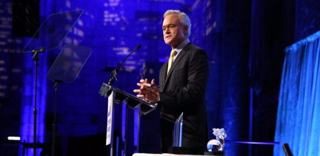 Then-anchor and Managing Editor of the CBS Evening News Scott Pelley hosts the Cystic Fibrosis Foundation's 60th Anniversary Gala in November 2015 in New York. Pelley is leaving the program and will focus more on his work for 60 Minutes. (Cindy Ord/Getty Images)